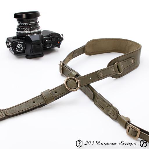 カメラストラップ サークル・Wバックル