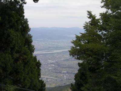 高越山ロケ