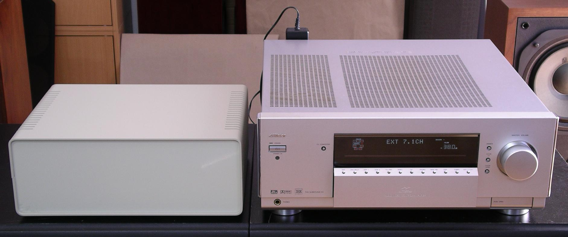 Test Box & AX-V7000