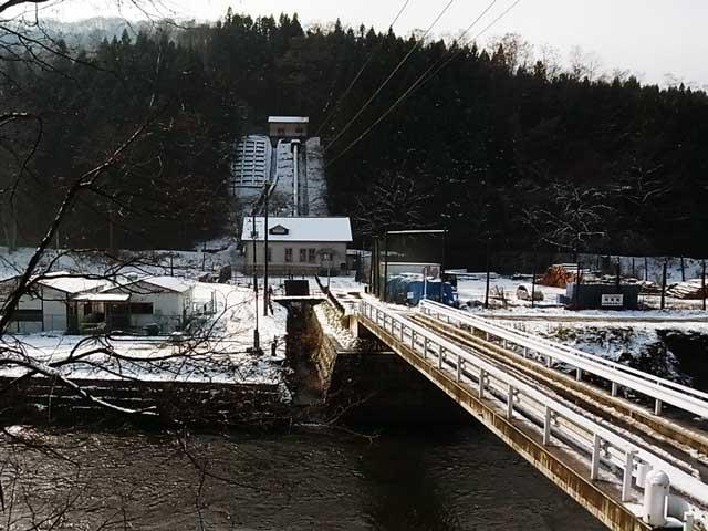 旧宇津野発電所