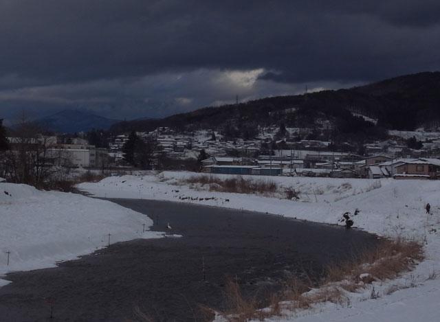 融雪の流れ