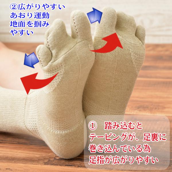 外反母趾予防靴下