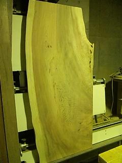 杉 - 座卓天板加工110419