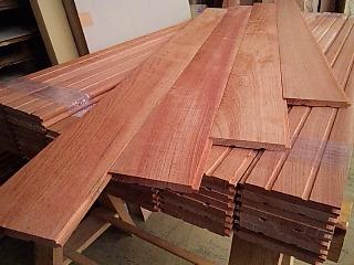 オリジナル無垢床材1