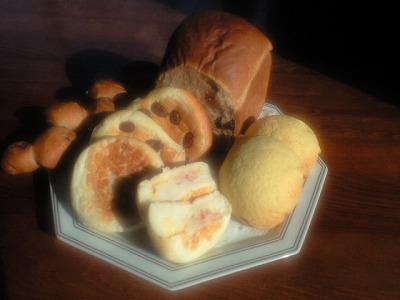 銀世界さんのパン