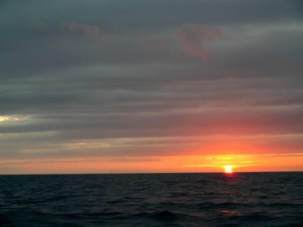 夕日はきれいですね〜(^^♪