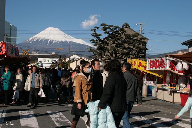 お祭り沿道