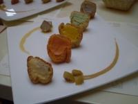 京野菜シュークリーム
