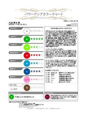 カラーチャート_大迫勇也選手