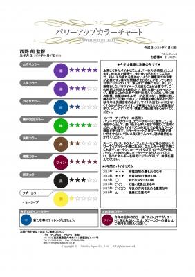 カラーチャート_西野監督