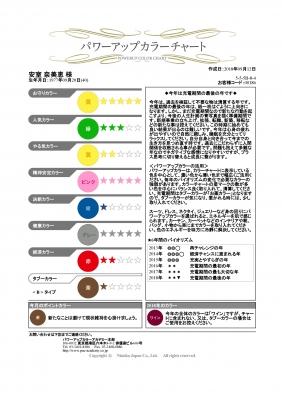 カラーチャート_安室奈美恵さん