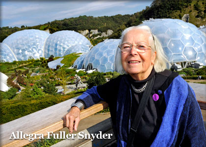 allegra fuller snyder at Eden Project