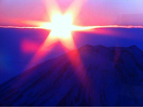 富士山のダイヤモンド初日の出