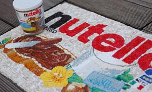 nutellaのモザイク
