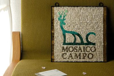モザイコカンポ ロゴ モザイク
