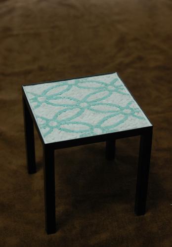 モザイクテーブル
