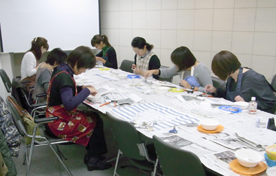 名古屋モザイク工業モザイク教室