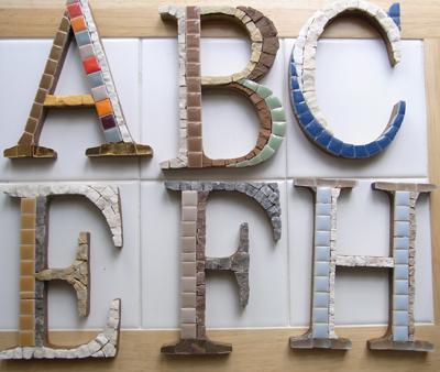 abc モザイク アルファベット