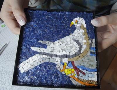 ラヴェンナの鳥