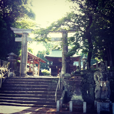 伊倉の神社