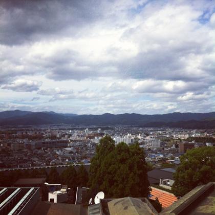 瓜生山からの眺め