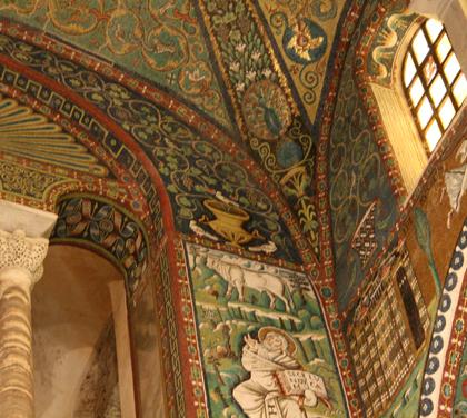 san vitale mosaico