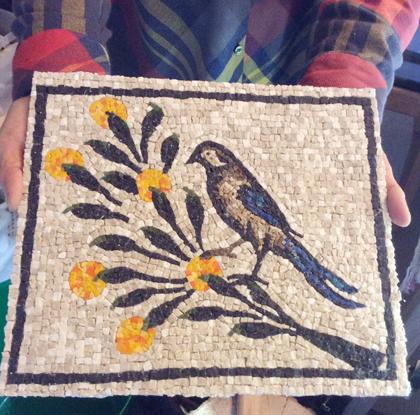 アクイレイア 鳥モザイク