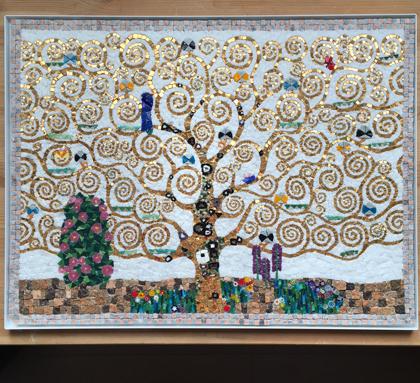 クリムト 生命の木