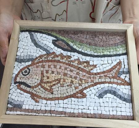代々木モザイク教室 魚