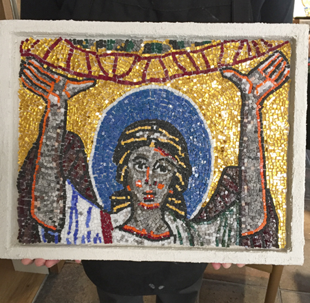 Santa Prassede Mosaic