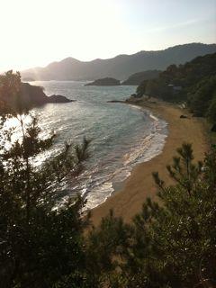 仙酔島彦浦海岸
