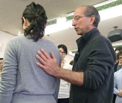 大阪WSで教えているBruce