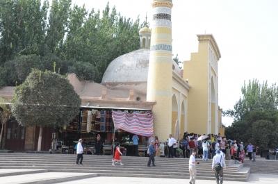カシュガルのモスク?