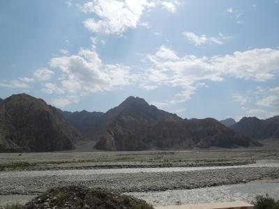 カシュガル川の上流?