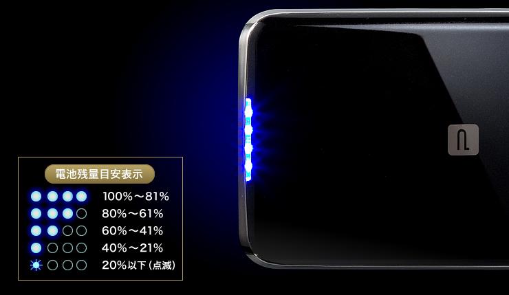 ★ 大容量モバイルバッテリー3 ★