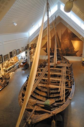 古いアイスランドの船