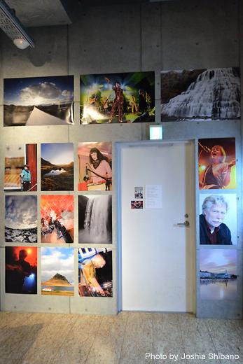 アイスランドのミュージシャン達の写真中心に