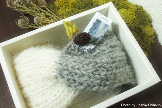 講師の方の手編みも販売♪