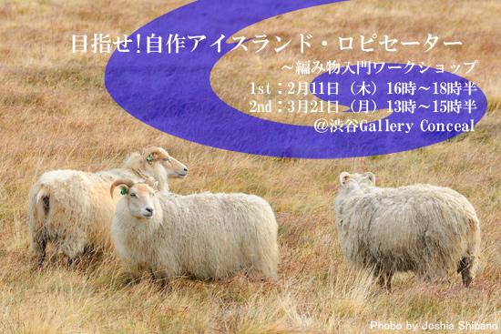 アイスランドウール編み物入門