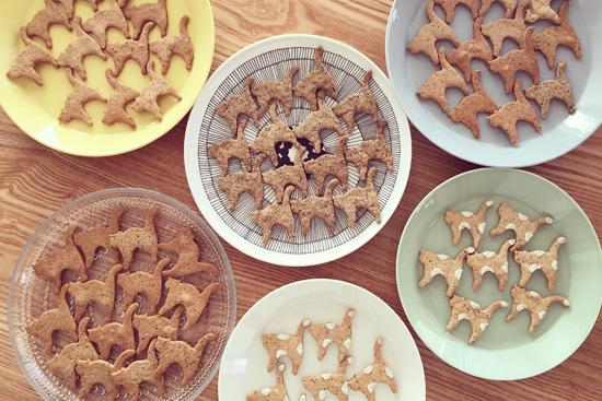自家製ねこクッキー