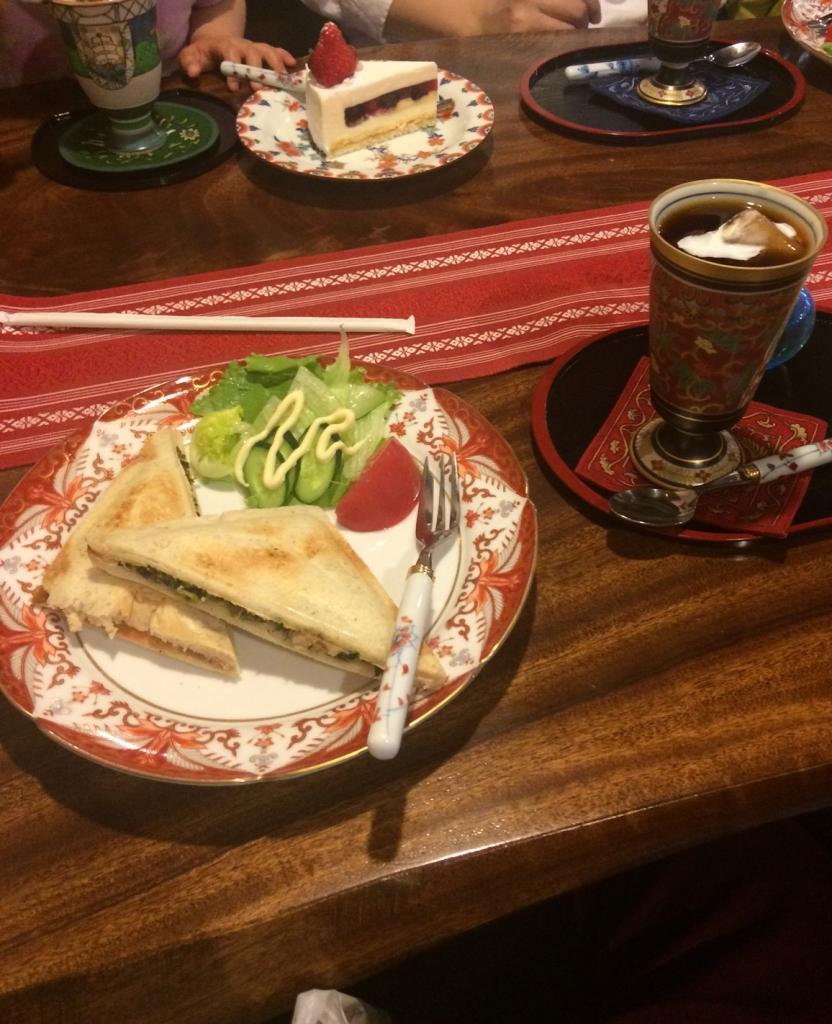 有田焼サンド