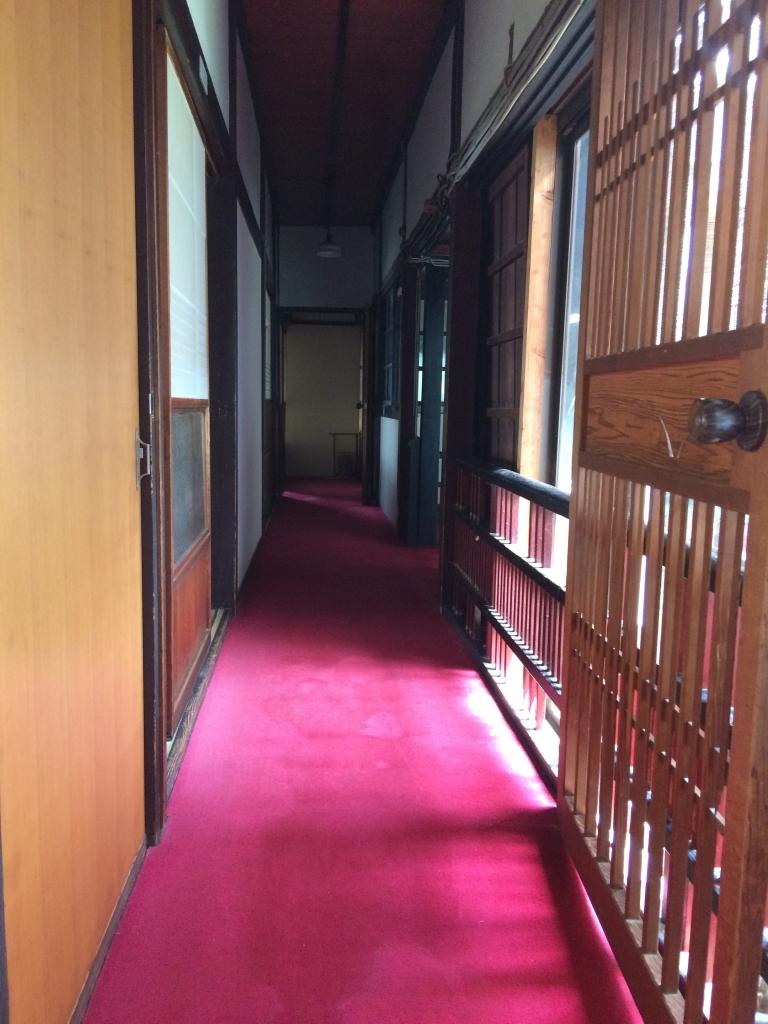 佐賀県 武雄市 白さぎ荘 廊下