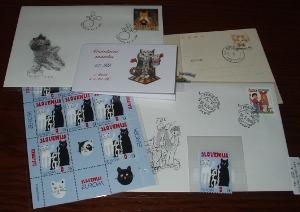 文具・紙製品展で買った切手