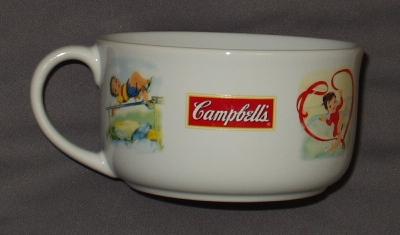 キャンベルスープのカップ