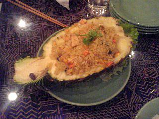 サワディー パイナップルのカレー
