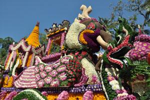 花祭りの山車