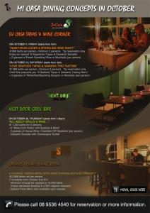 Mi Casa Dining Concept