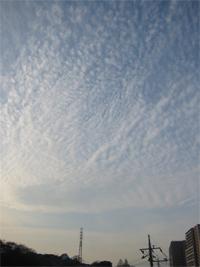 元日の空2