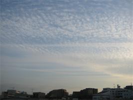 元日の空3