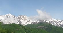 今日の白馬村の写真(2011年5月31日)